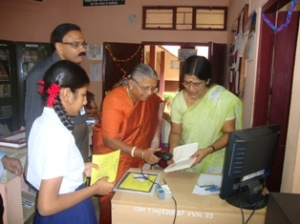 Inauguration of Library Automation-Book Issue